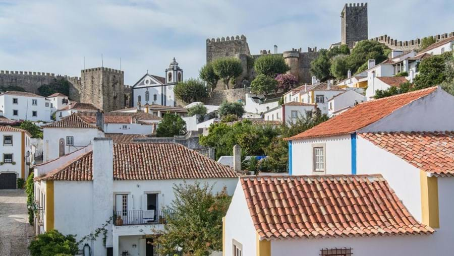 Óbidos landscape has remained the same for centuries. But the paint lasts longer now