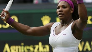 Serena Williams vence em Wimbledon