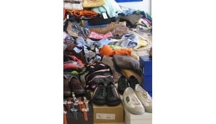 GNR apreende 200 mil euros em vestuário e calçado