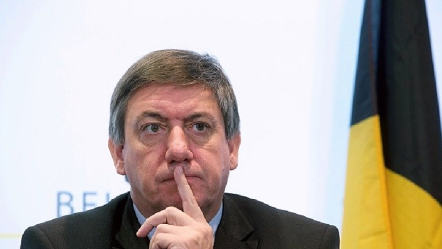 O ministro do Interior belga Jan Jambon