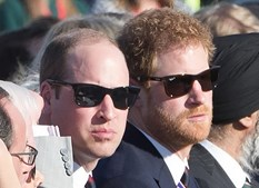 Príncipes William e Harry