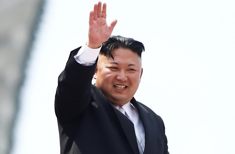 O presidente da Coreia do Norte, Kim Jon-un