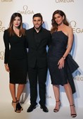 Salvio, Magali Aravena e Cindy Crawford